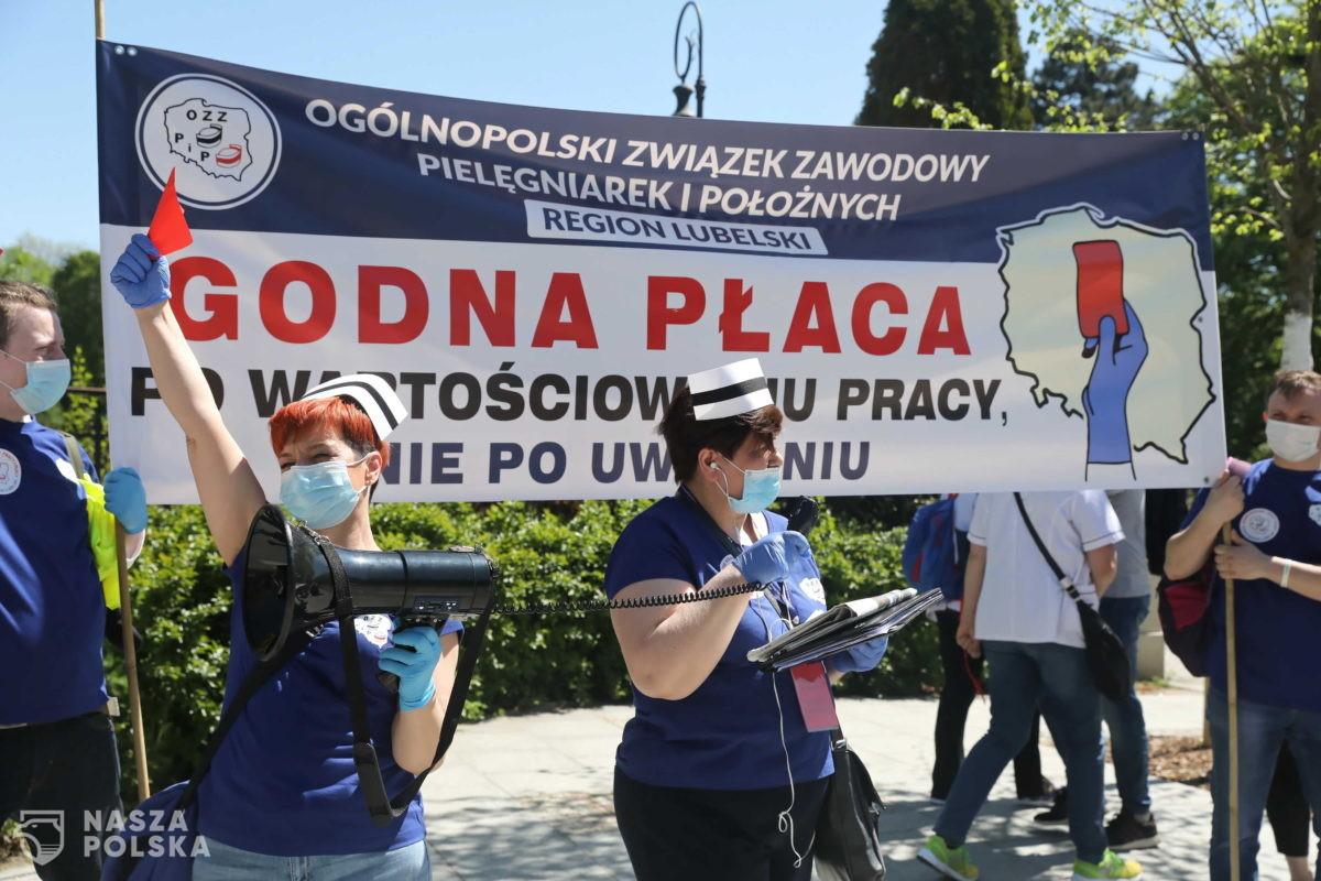 Warszawa/ Zakończył się protest pielęgniarek i położnych