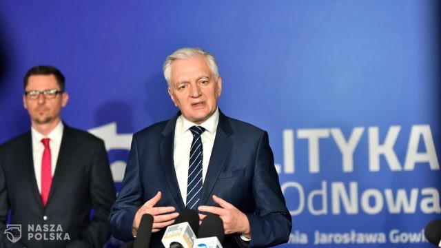 Gowin: będziemy wspierać polski przemysł i eksport krajowych firm