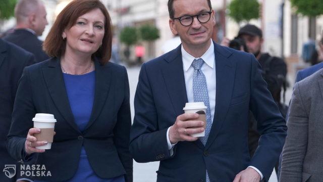 Jak premier Morawiecki ocenia szanse wojewody Leniart w wyborach prezydenckich?