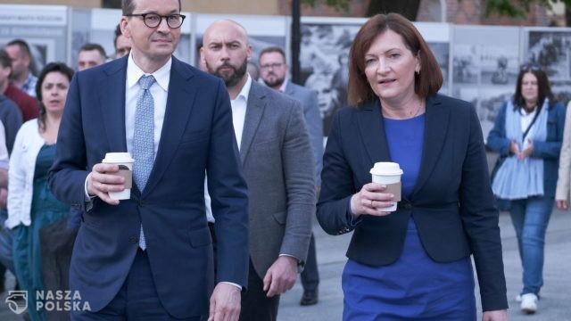Premier osobiście wspiera kandydatkę na prezydenta Rzeszowa