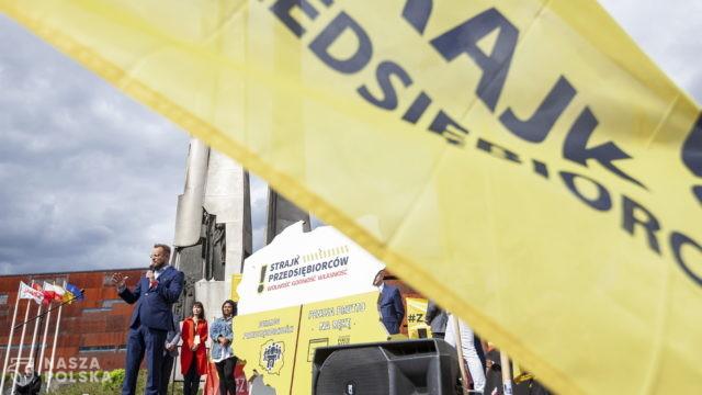 Strajk Przedsiębiorców przedstawił swój program polityczny