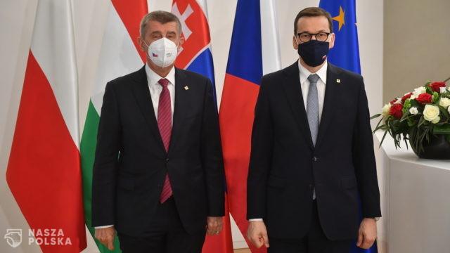 Premier Morawiecki i premier Babisz rozmawiali w Brukseli o Turowie