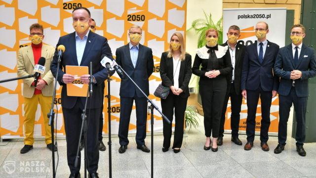 Wrocław/ Zaprezentowano samorządowców związanych i przystępujących do ruchu Polska 2050