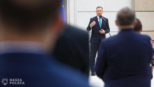 Duda: byłbym rad z powrotu do dialogu dot. polskich strat wojennych