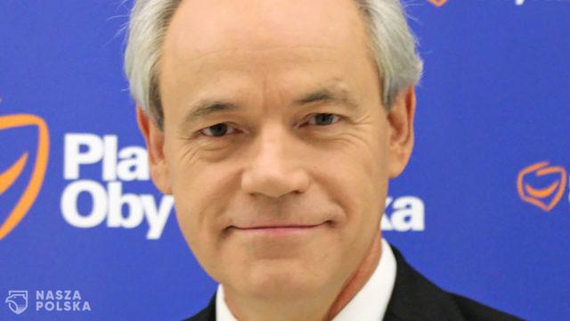 Senator Adam Szejnfeld sygnował list parlamentarzystów PO i KO