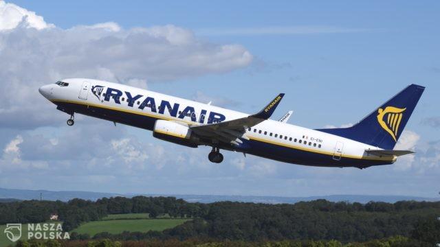 W samolocie Ryanaira zmuszonym do lądowania w Berlinie nie było bomby