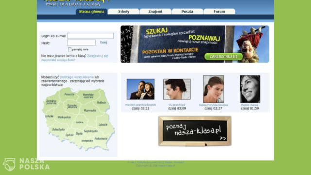 Pamiętacie serwis NaszaKlasa.pl? Za dwa miesiące zniknie z Internetu