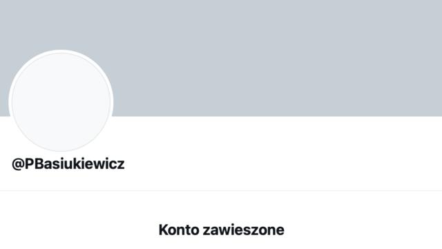 Dr Paweł Basiukiewicz zbanowany na Twitterze