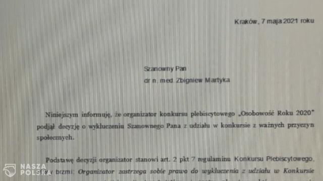 Doktor Martyka i cenzura w mediach przejętych przez Orlen?