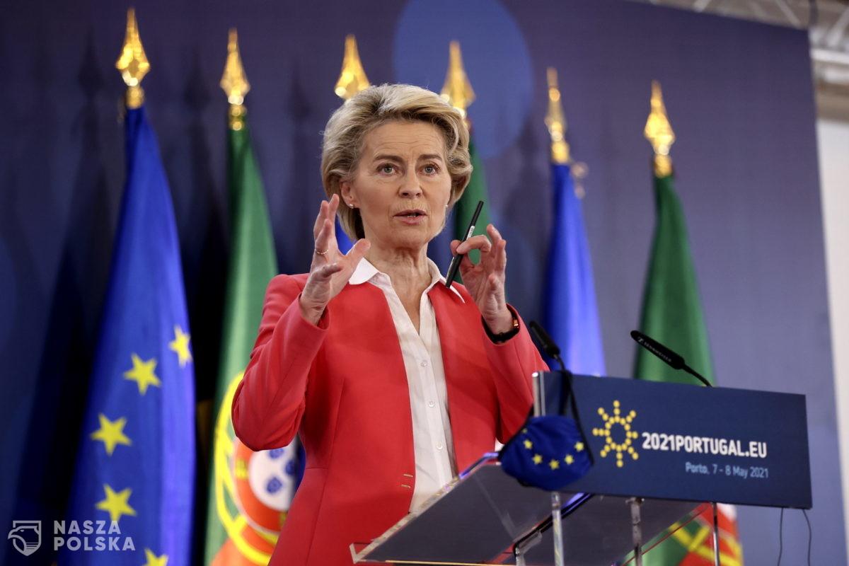 UE/ Szefowa KE: Wcześniej czy później dzieci i nastolatkowie będą szczepione. Musimy się na to przygotować