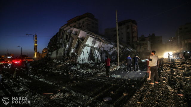 Izrael: kolejne ataki na cele w Gazie