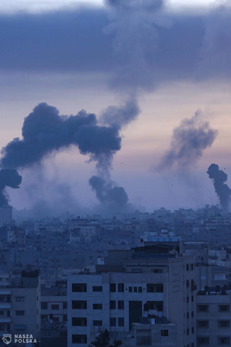 Strefa Gazy/ Hamas: co najmniej siedem ofiar śmiertelnych izraelskiego nalotu