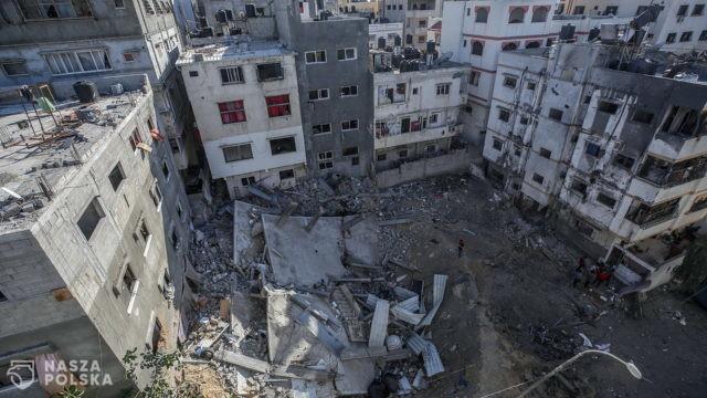 Izrael rozpoczął ostrzał artyleryjski Strefy Gazy