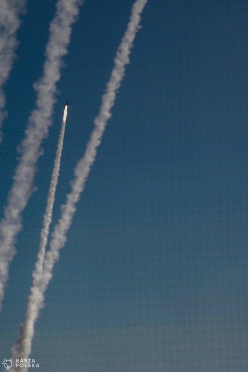 Trzy rakiety wystrzelono w stronę Izraela z terytorium Syrii