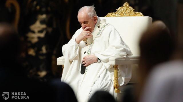 Watykan/ Papież apeluje o przerwanie działań zbrojnych w konflikcie izraelsko-palestyńskim