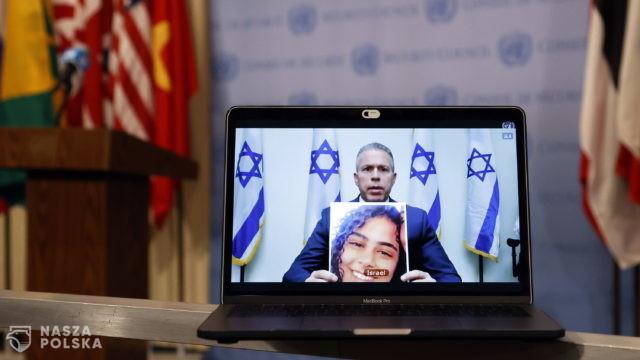 Wzajemne oskarżenia Palestyny i Izraela podczas posiedzenia Rady Bezpieczeństwa ONZ