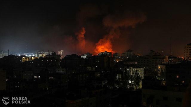 Intensywne ataki lotnictwa izraelskiego na Strefę Gazy