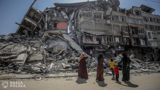 Europosłowie PiS pytają o zniszczone przez Izrael, finansowane przez UE, palestyńskie nieruchomości