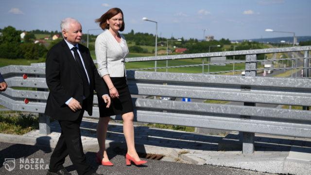 Kaczyński: Ewa Leniart jest szansą dla Rzeszowa; to jedyna kandydatka PiS na prezydenta tego miasta
