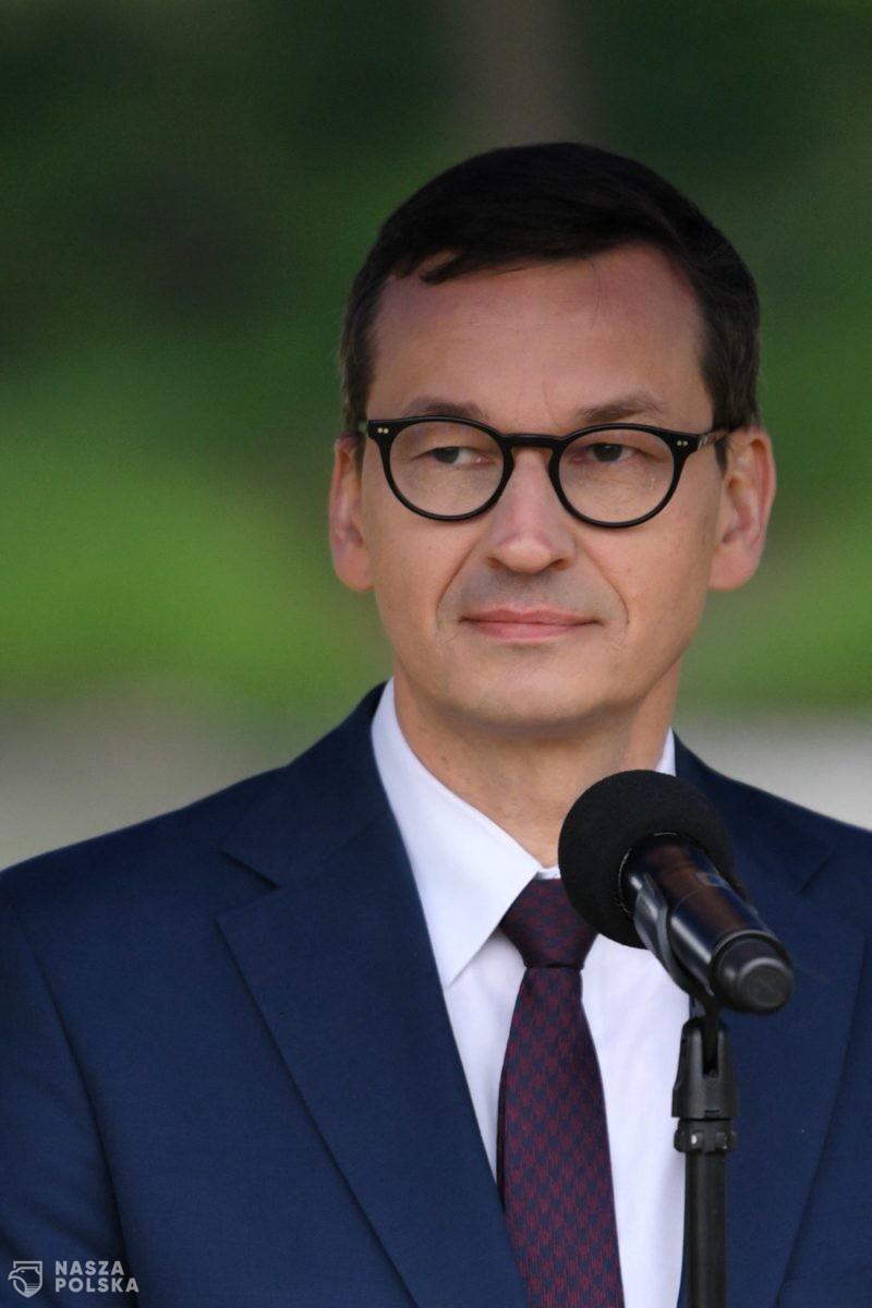 """Premier Morawiecki przeciwny spotkaniu UE-Rosja. """"To byłaby nagroda dla prezydenta Rosji"""""""