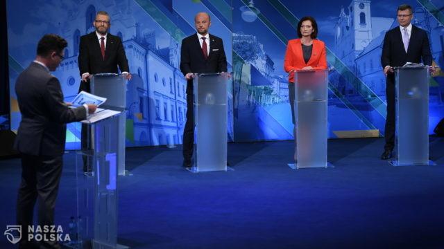 Ostatnia debata w Rzeszowie przed pierwszą turą wyborów i najnowszy sondaż