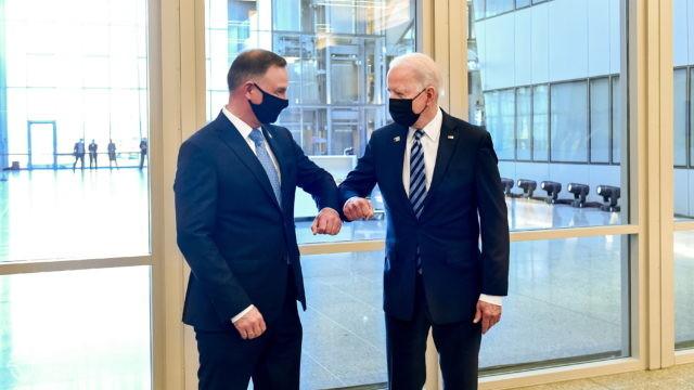 Duda: Biden podkreślił, że bezpieczeństwo Europy Środkowo-Wschodniej, w tym Polski, leży mu bardzo na sercu