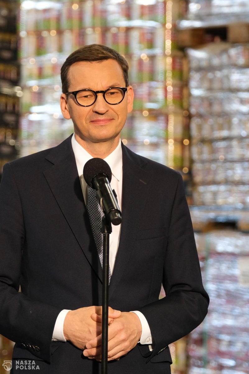 Morawiecki: kupujmy polskie produkty u polskich producentów
