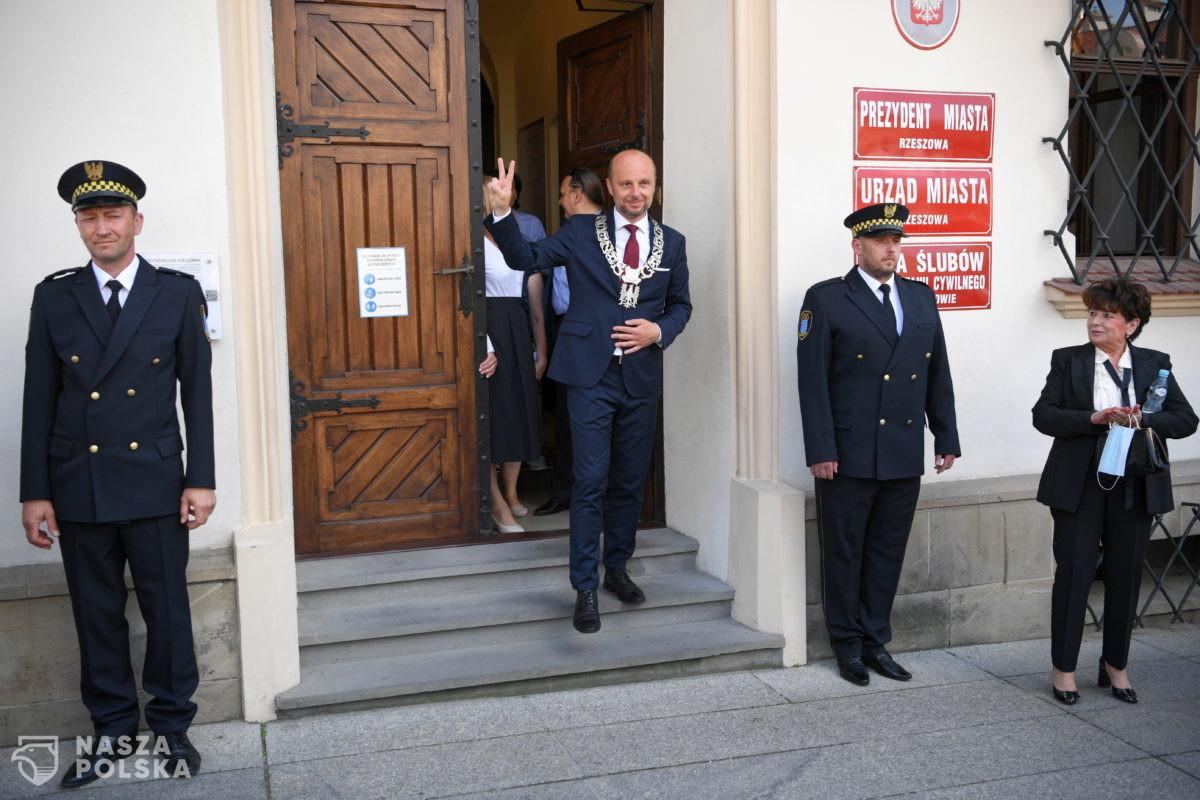 Konrad Fijołek został zaprzysiężony na prezydenta miasta Rzeszowa
