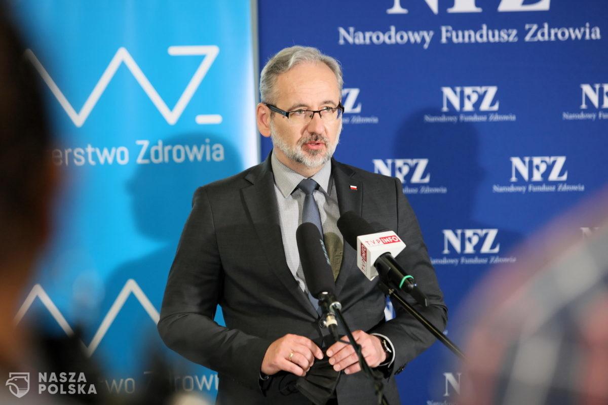 Niedzielski: nie przedłużę umów z 70 placówkami POZ, w których udział teleporad wynosi ponad 90 proc.