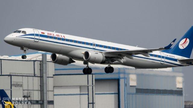 UE/ Zakaz przelotów przez przestrzeń powietrzną UE dla białoruskich przewoźników lotniczych