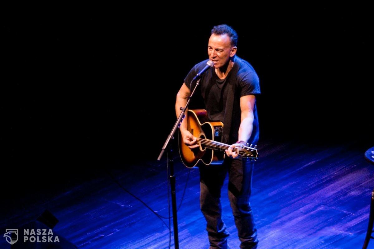 Koncert Bruce'a Springsteena tylko dla zaszczepionych, ale nie szczepionką AstraZeneca