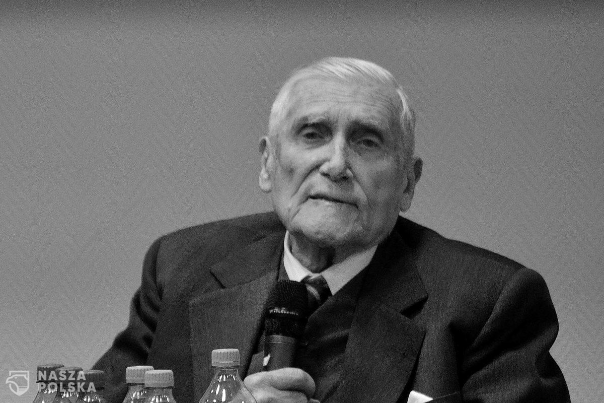 Zmarł prof. Witold Kieżun – weteran AK, powstaniec warszawski