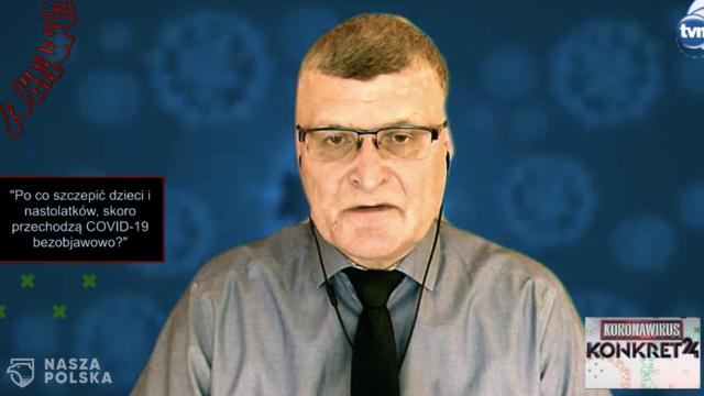 Grzesiowski: szczepienie dzieci ma ogromny wpływ na uzyskanie tak zwanej odporności populacyjnej