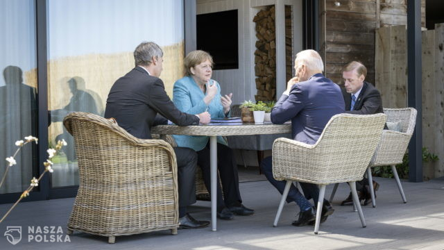 Liderzy G7 popierają amerykański plan rywalizacji z Chinami