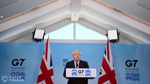 W. Brytania/ Johnson chce zorganizować wirtualny szczyt G7 w sprawie Afganistanu