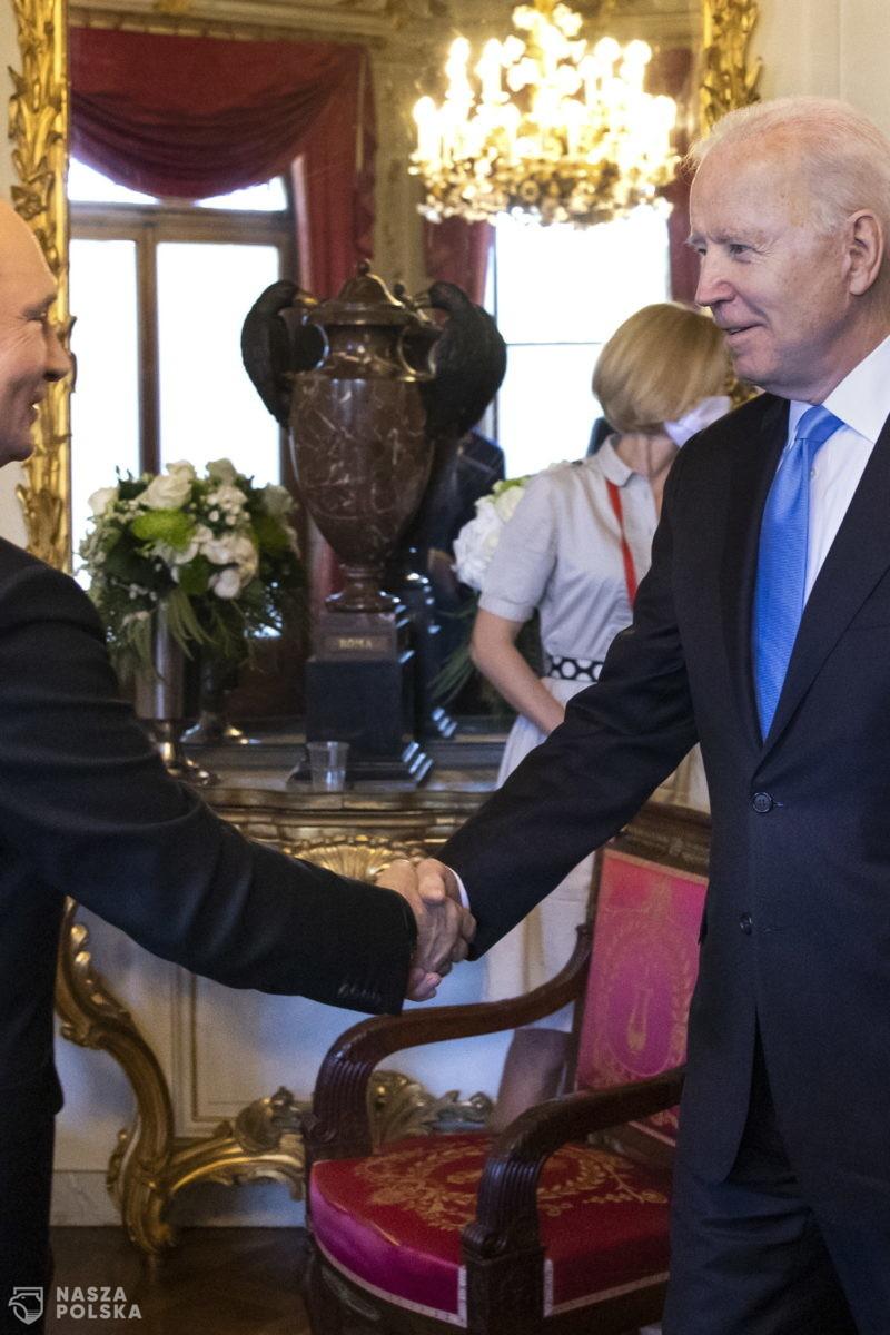 Putin: prezydent Biden nie zapraszał mnie w gości, ja również nie składałem takich propozycji
