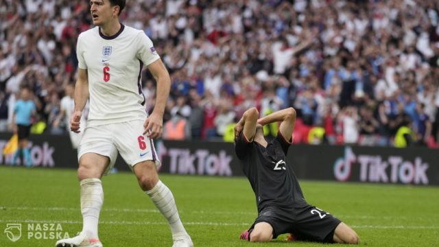 Niemcy przegrywają z Anglią i odpadają z Mistrzostw Europy