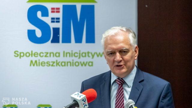 Gowin: Polska potrzebuje mieszkań dla rodzin o średnich dochodach