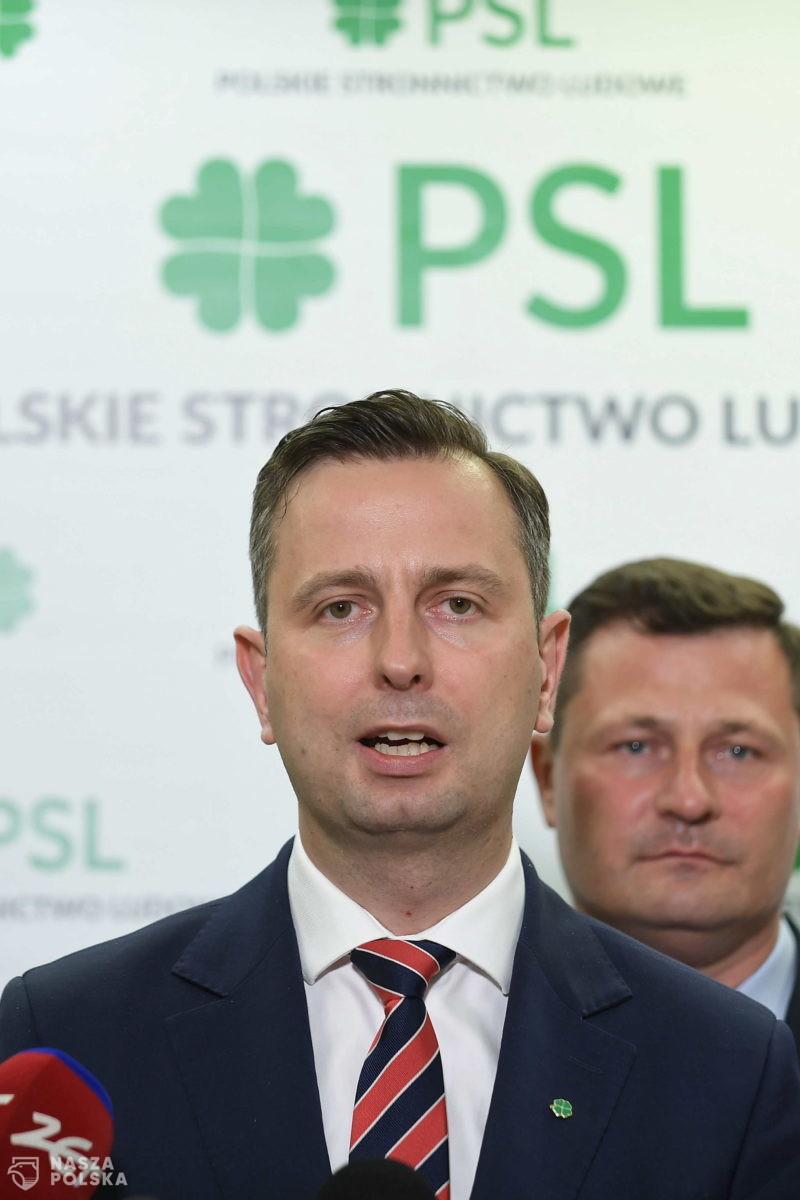 Lider PSL o stanie wyjątkowym: nie będziemy podkładać nikomu nóg