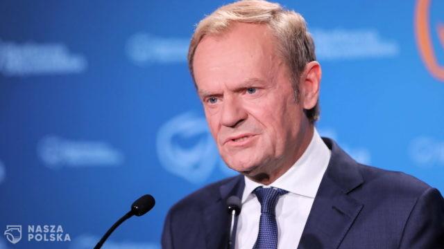 """Tusk: termin """"koryto plus"""" oddaje dziś stan rzeczy w Polsce"""