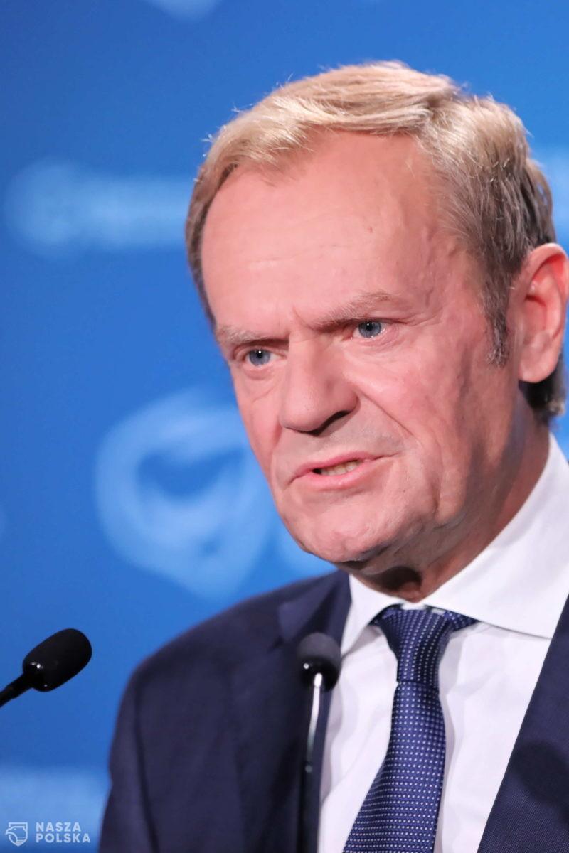 """Tusk dla """"Polityki"""": mam jednego oponenta, jednego konkurenta – PiS"""