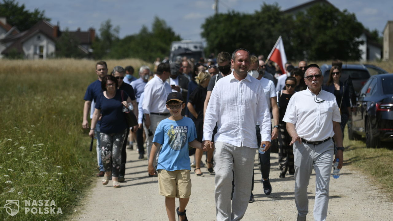 W Jedwabnem odbyły się obchody 80. rocznicy mordu Żydów