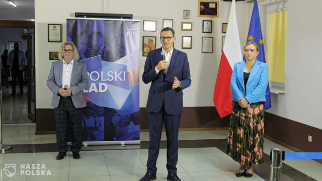 Premier w Miłakowie: Polski Ład to całościowa oferta dla gospodarki