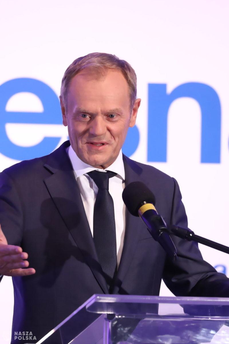 Odezwa Tuska do opozycji: tylko zjednoczeni możemy pokonać zło