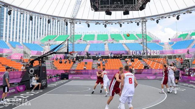 Tokio/ Koszykówka 3×3. Porażka Polaków na otwarcie
