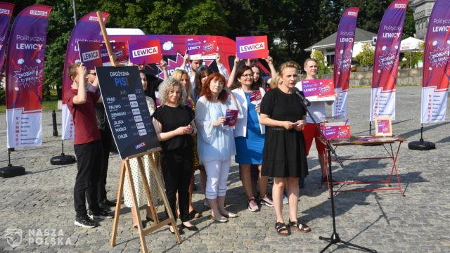 Posłanki Lewicy wyruszyły w trasę po Polsce, będą rozmawiać m.in. o prawach kobiet i edukacji