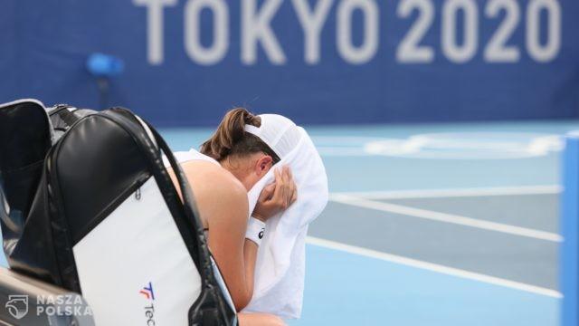 Tokio/ Tenis. Iga Świątek wyeliminowana w drugiej rundzie