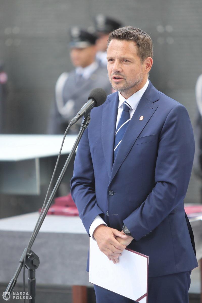 Trzaskowski: Pamięć o Powstaniu Warszawskim jest częścią naszej tożsamości