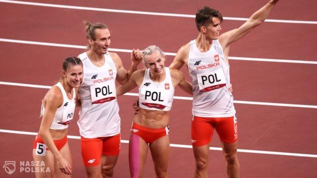 Tokio/ Lekkoatletyka. Polska sztafeta mieszana 4×400 m zdobyła złoty medal