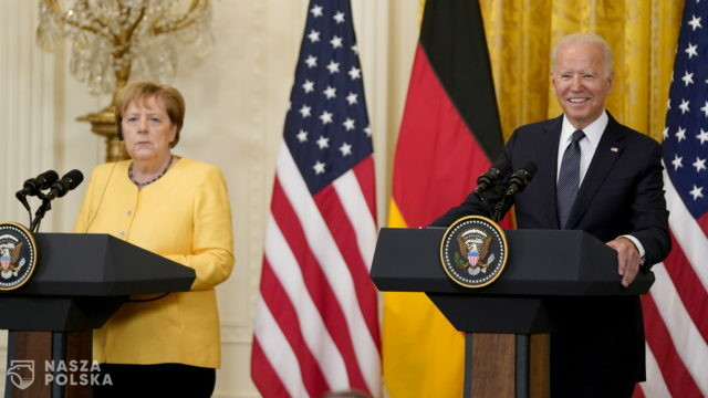 USA/ Biden: Różnimy się z Merkel ws. Nord Stream 2, ale będziemy współpracować